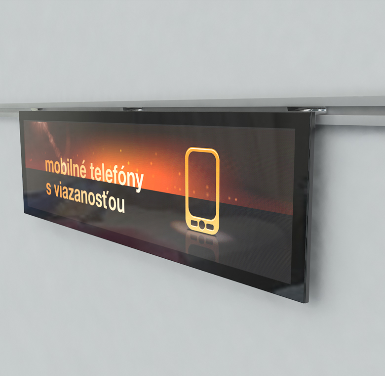 Ultra thin led display